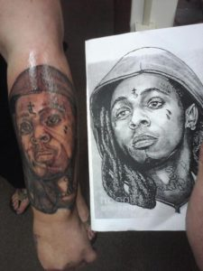 horrible tattoo